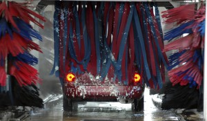 Going through Car Wash